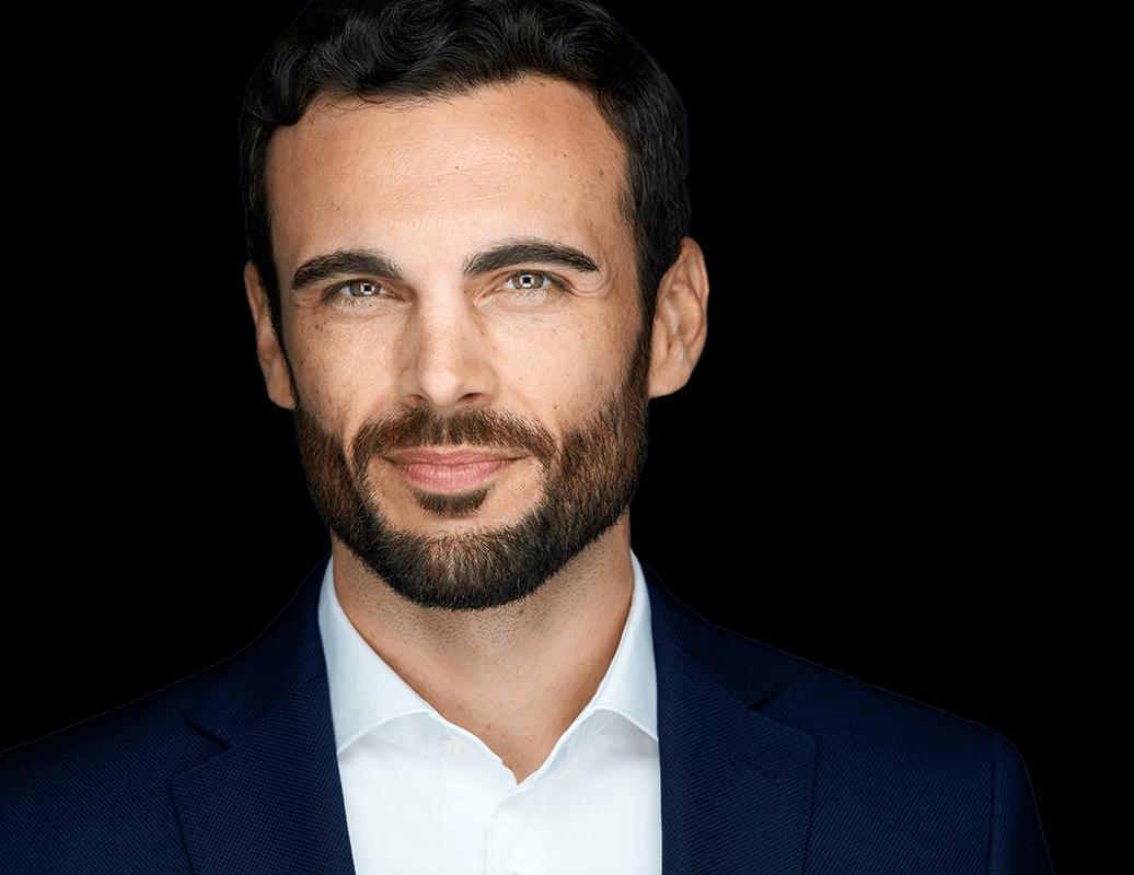 Professioneller Headshot für Politiker, CEOs, Führungspersonal, Schauspieler oder Unternehmer