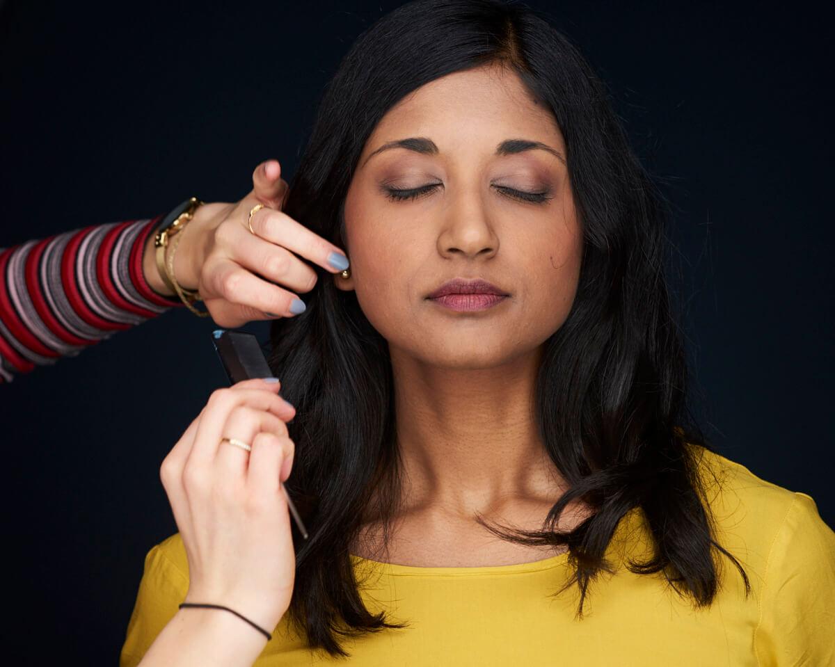 Haare und Makeup Business Portrait Fotograf Headshots Berlin Chris Marxen
